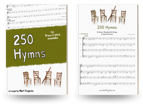 250 Hymns for Brass and Wind