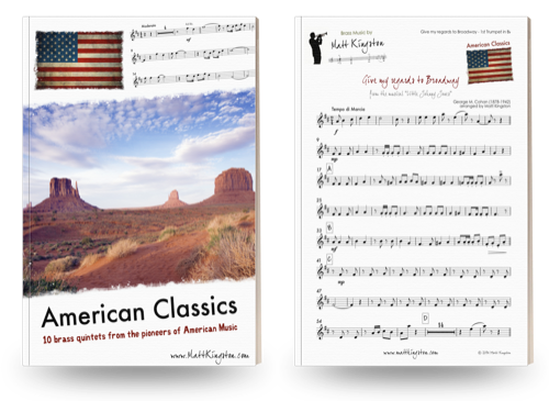 American Classics for Brass Quintet