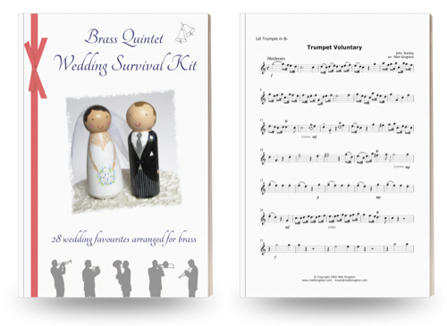 Brass Quintet Wedding Survival Kit